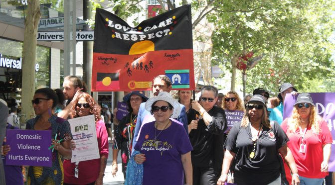 29th Annual Silent Domestic Violence Memorial March Story